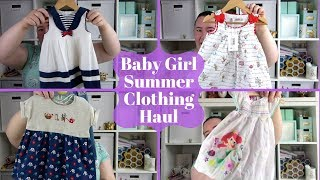 Baby Girl Summer Clothing Haul - Disney Store, Primark, ASDA, Boots & More