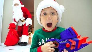 Дед Мороз Настоящий!? Крутые Подарки под Елкой! Супер Сеня