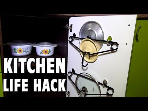 Kitchen Life Hack – Hangers