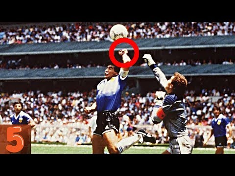5 Most Shocking World Cup Moments Of All Time