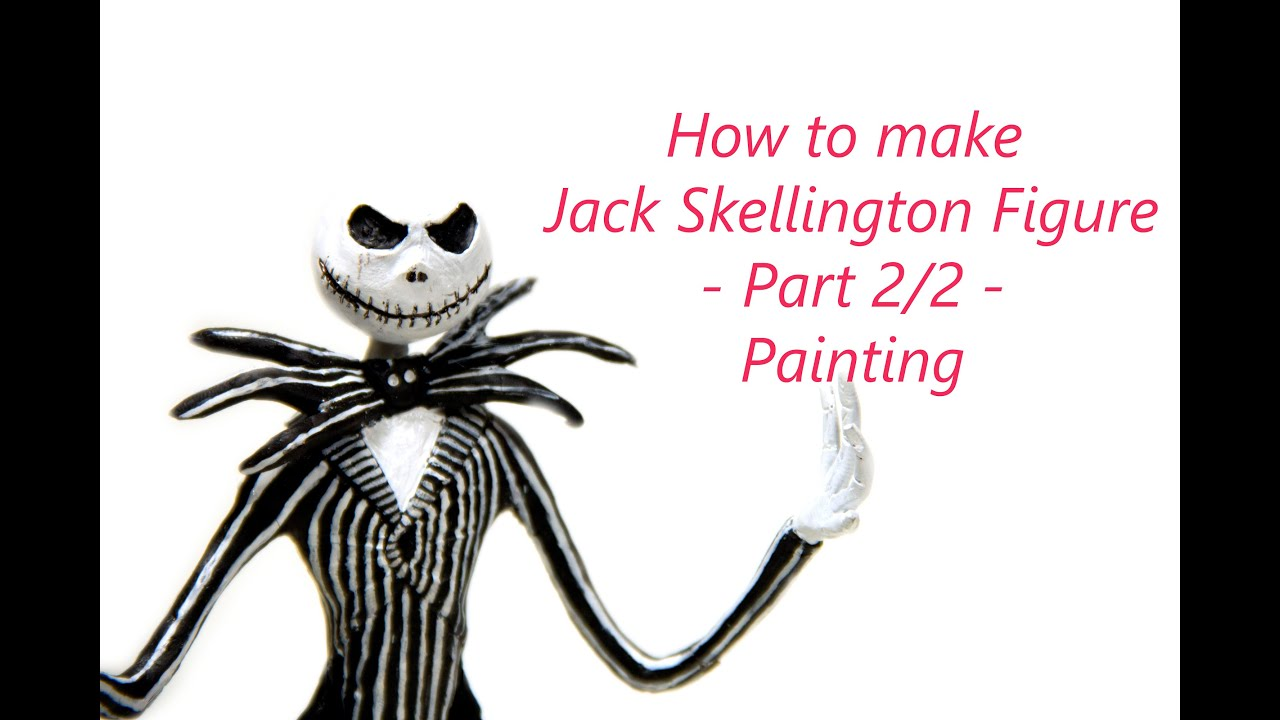 Diy jack skellington s body nightmare before christmas youtube - How To Make Jack Skellington Figure Part 2 2 The Nightmare Before Christmas Tutorial