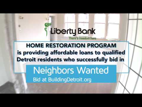 NEIGHBORS WANTED HOME AUCTION FINANCING by Liberty Bank
