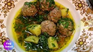 Сложное но вкусное блюдо Rizə Küftəsi (Кюфта Ризя)  Азербайджанская кухня с бакинским уклоном)