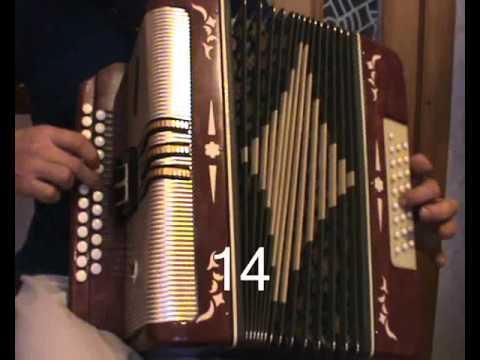 Филипович показывает аккорды,переборы частушек на Гармони