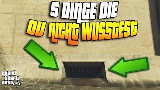 GTA 5: 5 DINGE DIE DU NOCH NICHT WUSSTEST! | RENN TIPPS | GOD MODE? | GEHEIMER DAMM ! |