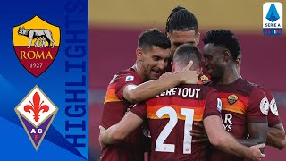 Roma 2-1 Fiorentina | Doppio Veretout su rigore: la Roma batte i Viola | Serie A TIM
