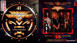 Bonfire Fire Works Vinyl LP Album 1987