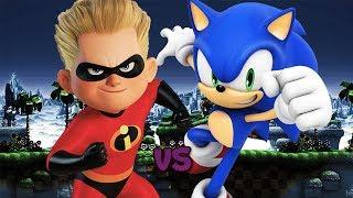 Dash vs Sonic || Kballerías de Rap || Kballero ft.Dizert || Prod.Jan Chmelar