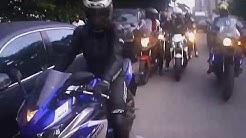 TOGO Superbikers having fun in Nigeria | MotoVlog