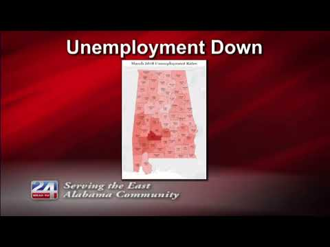 Calhoun County Unemployment Rate Drops