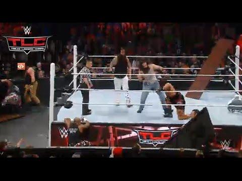 WWE TLC 2015: Family Wyatt VS ECW Originals (Tag Team Tables Elimination Match)