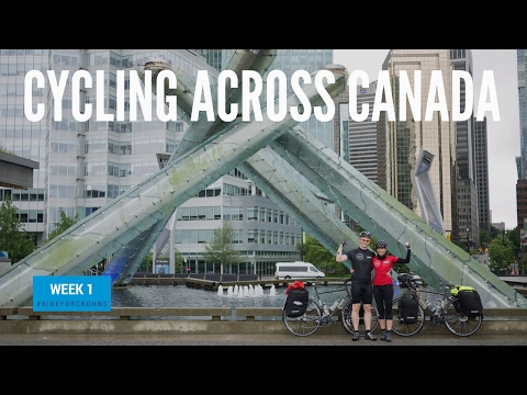 Cycling Across Canada Week 1 | Bike Touring