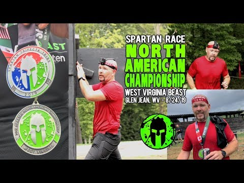 Spartan Race North American Championship 2019 - West Virginia Beast AG - 8/24/19 (GoPro Video)