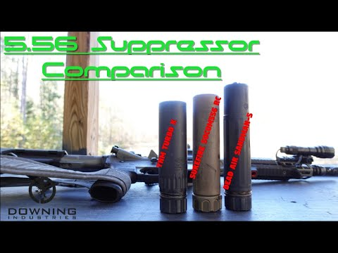 556 Suppressor Comparison