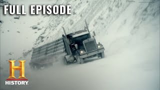 Ice Road Truckers: Dangerous 100 Ton Megahaul - Full Episode (S4, E8) | History