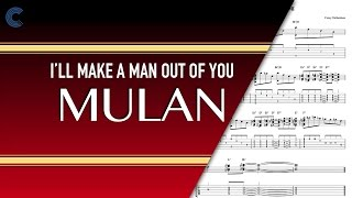 Ukulele - I'll Make a Man Out of You - Mulan -  Sheet Music, Chords, & Vocals