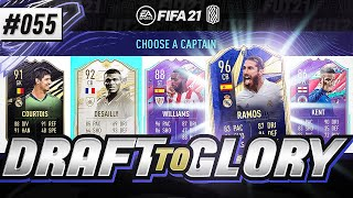 EPIC 187 RATED DRAFT!!! - #FIFA21 - ULTIMATE TEAM DRAFT TO GLORY #55