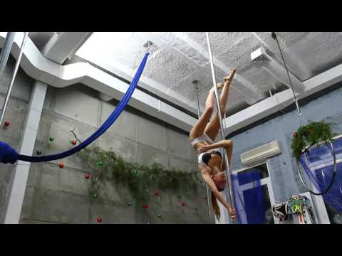 Golovataya Anastasiya pole sport 24\12\16, Monsters pole dance studio