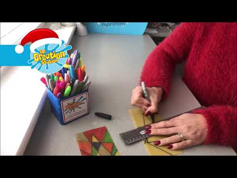 The Creation Station Christmas Calendar Day 14 Stain-Glass Pasta