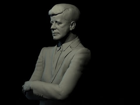 How To Sculpt John F Kennedy using sculptris