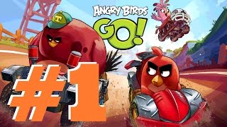 Angry Birds Go 2.0 Epic Gameplay Part 1 - Ready.... Set... Angry Birds Go!!!