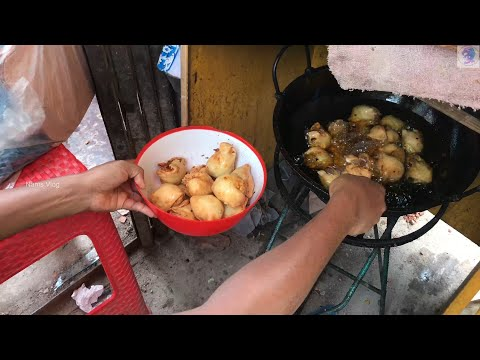 Famous Shingara at Monipur, Mirpur | Singara Making Tips | Street food of bangladesh | Nams Vlog