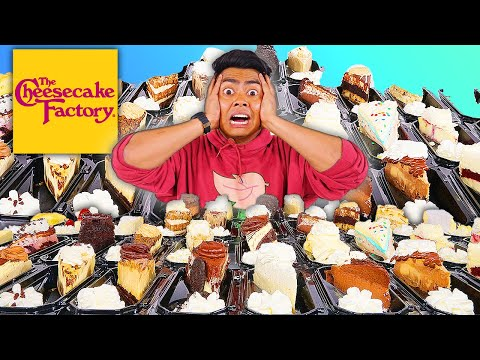 I Ordered Every Cheesecake From CHEESECAKE FACTORY!