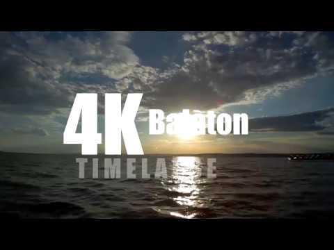 Lake Balaton timelapse 2018.06.23. (sjcam sj6 legend 4k camera)