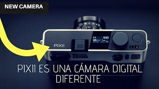 Pixii es una cámara digital diferente que deja atrás la pantalla y la ranura de almacenamiento!