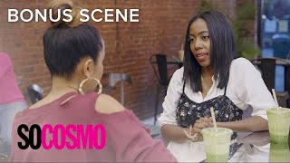 Will Tiffany Reid Agree to Be Set Up on a Blind Date? | So Cosmo | E!