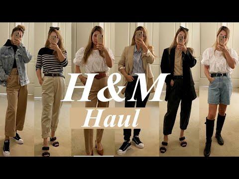 (H&M Haul ) 가을에 뭐 입지? 패션 하울 Fashion Haul, 가을 데일리룩,꾸안꾸 데일리룩,