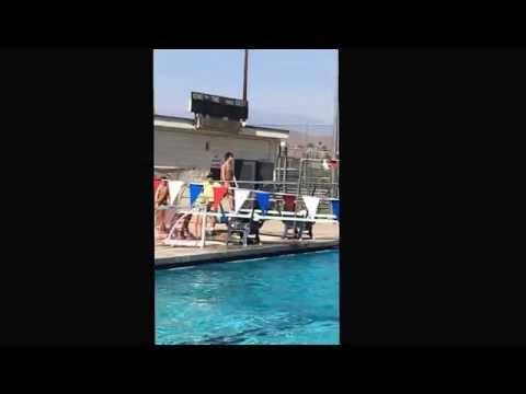Mason Gamble diving, high school 2014