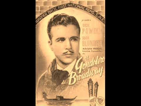 LEO IS ON THE AIR  1936  BROADWAY GONDOLIER   dick powell