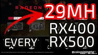 29 MH NEW How To BIOS Mod ALL RX470/480/570/580 4/8GB Oct 17