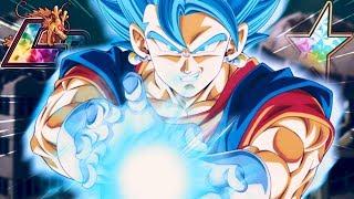 THE 100% RAINBOW LR VEGITO BLUE SHOWCASE! Dragon Ball Z Dokkan Battle