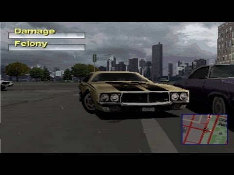Driver 2 Gameplay Cheats Take A Ride / Survival Mode