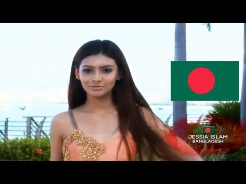 Miss World 2017 Contestants Introduction Asia and Oceania Part 01 | Jessia islam miss world Banglad
