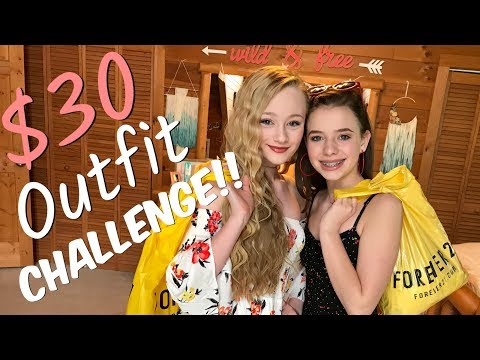 $30 Outfit Shopping Challenge Princess Ella VS CC at Forever 21