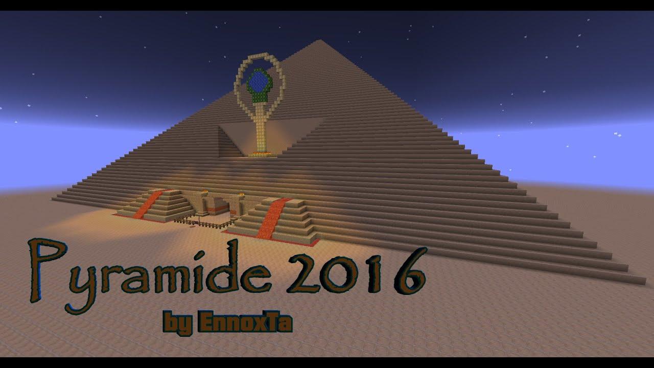 minecraft pyramide mit fallen 2016 pyramid with traps