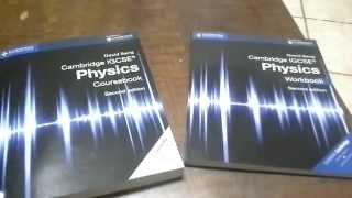 Cambridge Coursebook and Workbook review - IGCSE Physics