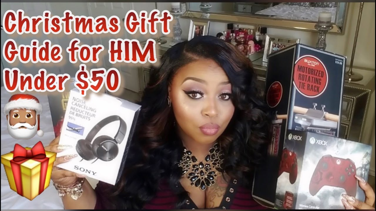 2016 Christmas Gift Guide For HIM under $50 - YouTube
