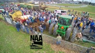 Farm Machinery Auction From The Sky