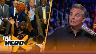 Kyrie Irving and Steph Curry mock LeBron James at a wedding - Colin Cowherd reacts | THE HERD