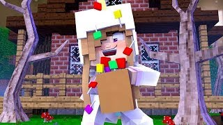 BABY ARIANA GOES TRICK OR TREATING! w/Little Carly (Minecraft Roleplay).