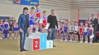 Награждение гимнастов ДЮСШ№1