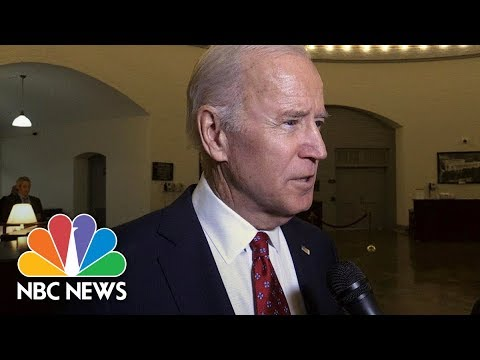 Former VP Joe Biden Says President Donald Trump's North Korea Tweets 'Not Presidential' | NBC News