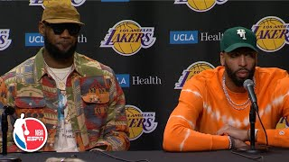 LeBron James and Anthony Davis discuss Kobe Bryant | Remembering Kobe Bryant