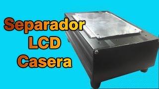 Separador de display y tactil casero