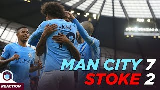 MAN CITY 7-2 STOKE CITY | REACTION