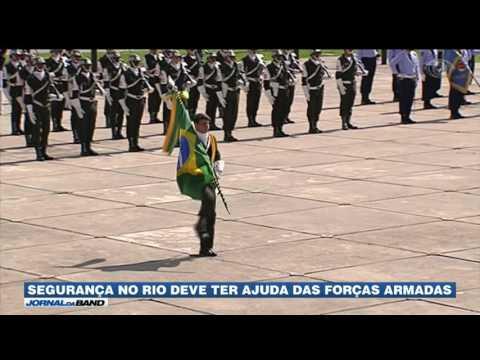 Trezentos homens da Força Nacional chegam ao Rio de Janeiro